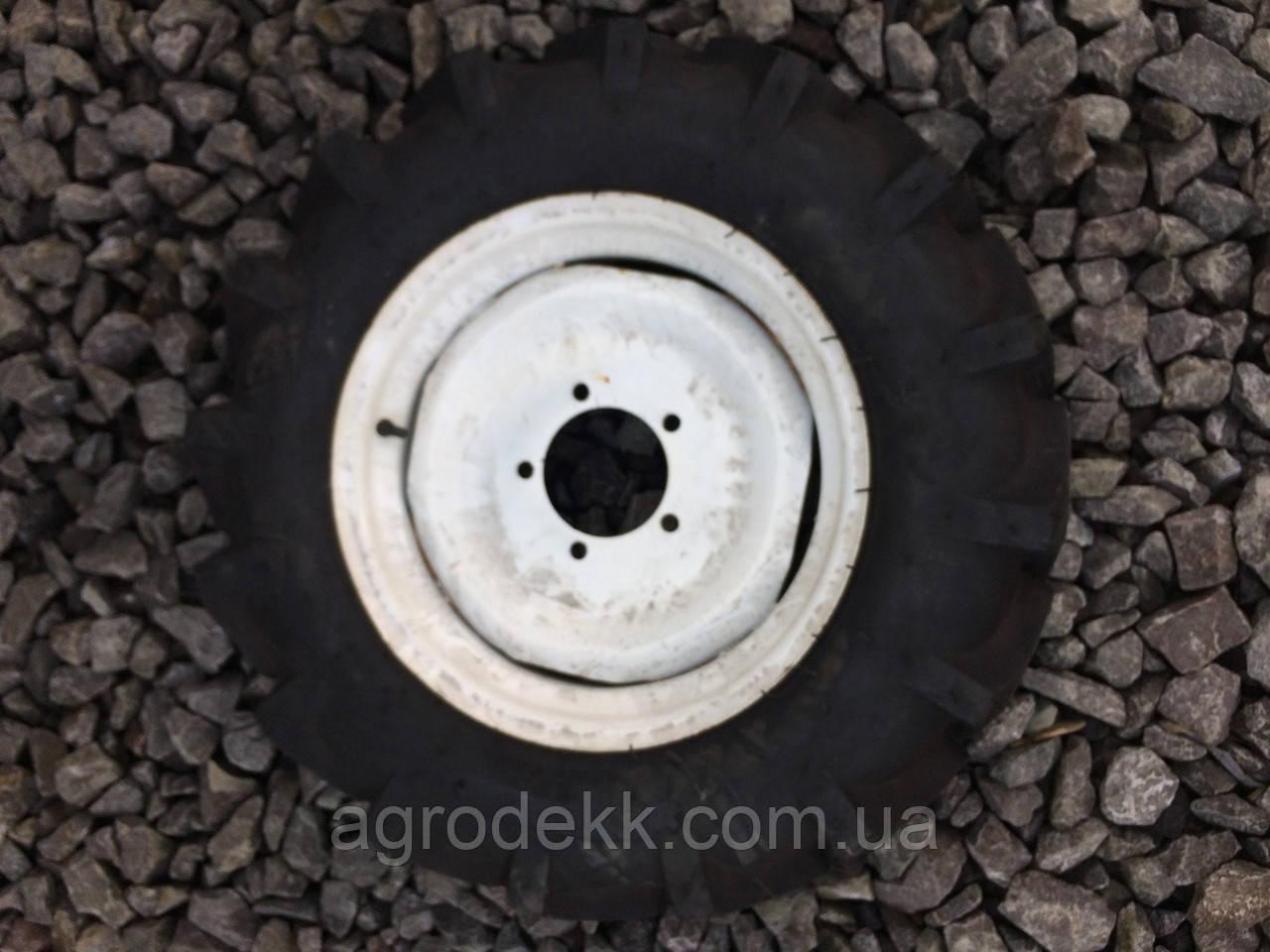 Колесо в сборе 6.50*16 (под 5 болтов) 10PR - мототрактор