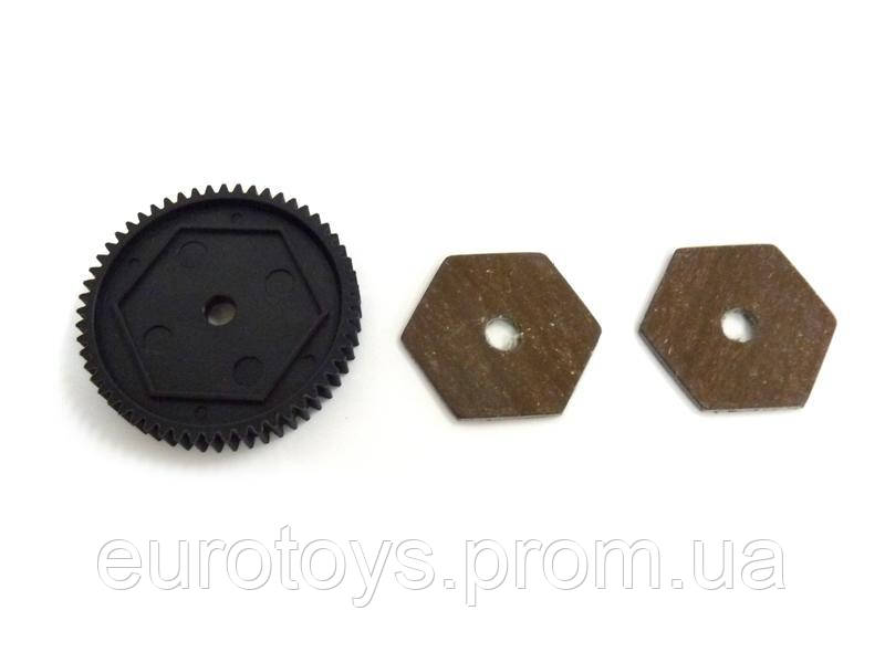 31611 Main Gear 56T and Slipperpads 1P