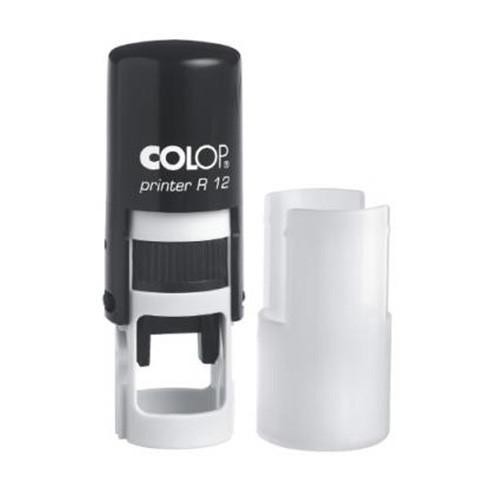 Оснастка для круглой печати Printer R12 черная