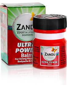 Бальзам против против простуды и боли Zandu Balm Ultra Power (Занду Ультра Сила)