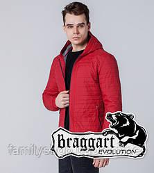 Braggart 1295   Ветровка мужская красная