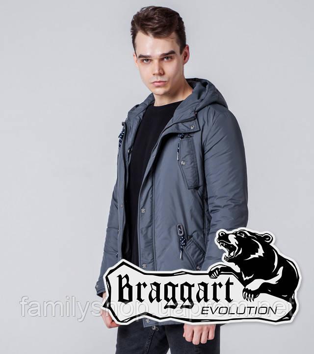 Braggart 1342 | Мужская ветровка серая