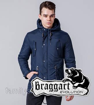 Braggart 1342   Мужская ветровка синяя, фото 2