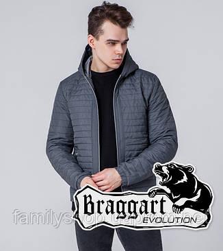 Braggart 1295 | Мужская ветровка серая, фото 2