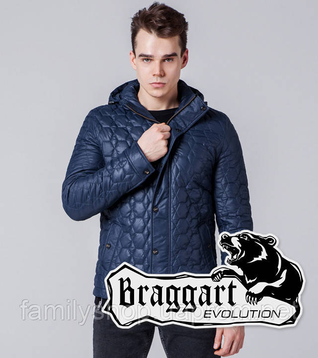 Braggart 1386 | Мужская ветровка синяя