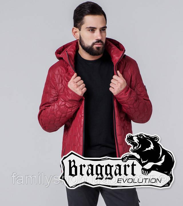 Braggart 1272 | Мужская ветровка красная