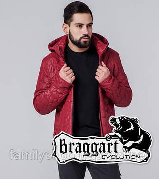 Braggart 1272 | Мужская ветровка красная, фото 2