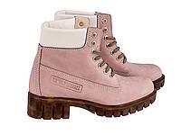 Ботинки Etor 5169-21554-710 39 розовые, фото 1