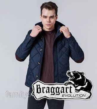 Braggart 1268 | Мужская ветровка синяя, фото 2