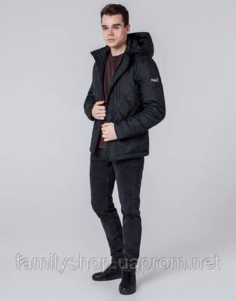 Braggart 1462 | Мужская ветровка черная, фото 2