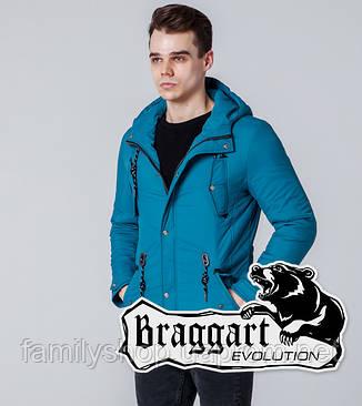 Braggart 1342 | Ветровка мужская бирюзовая, фото 2