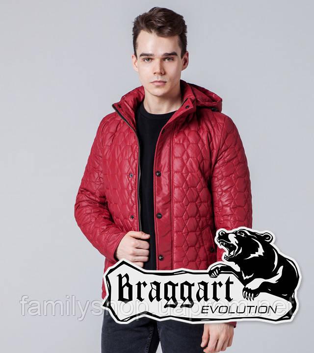 Braggart 1386   Мужская ветровка красная