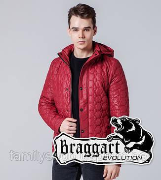 Braggart 1386   Мужская ветровка красная, фото 2