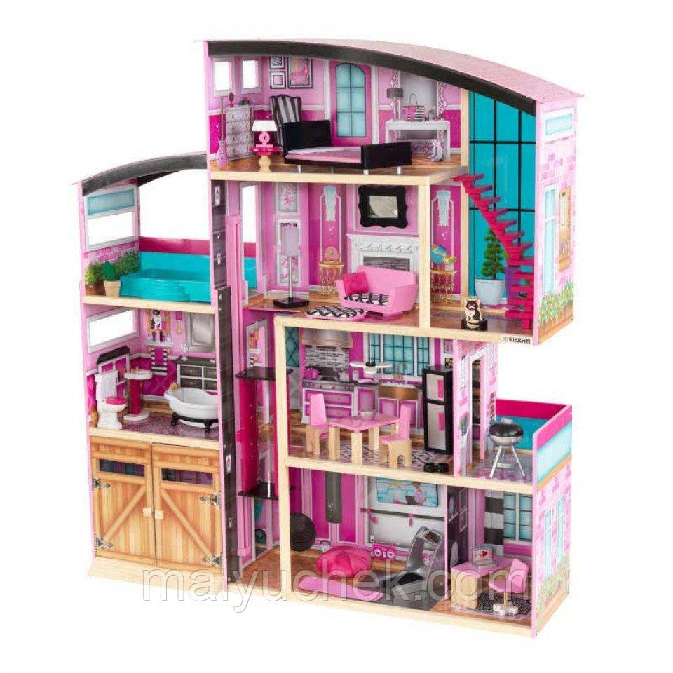 Интерактивный кукольный домик KidKraft 65949 «Shimmer Mansion»