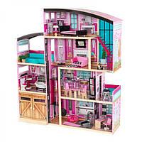 Интерактивный кукольный домик KidKraft 65949 «Shimmer Mansion», фото 1