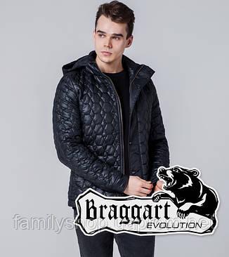 Braggart 1386 | Мужская ветровка черная, фото 2