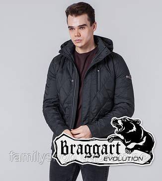 Braggart 1462 | Мужская ветровка графитовая, фото 2
