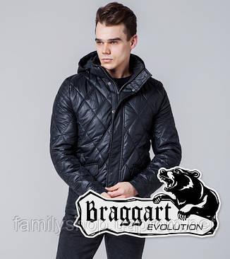 Braggart 1489   Мужская ветровка черная, фото 2