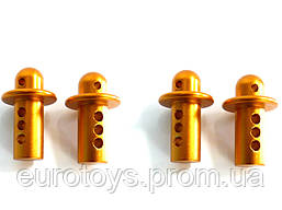 Alum Body Post For Short Course Truck 4P (Gold)
