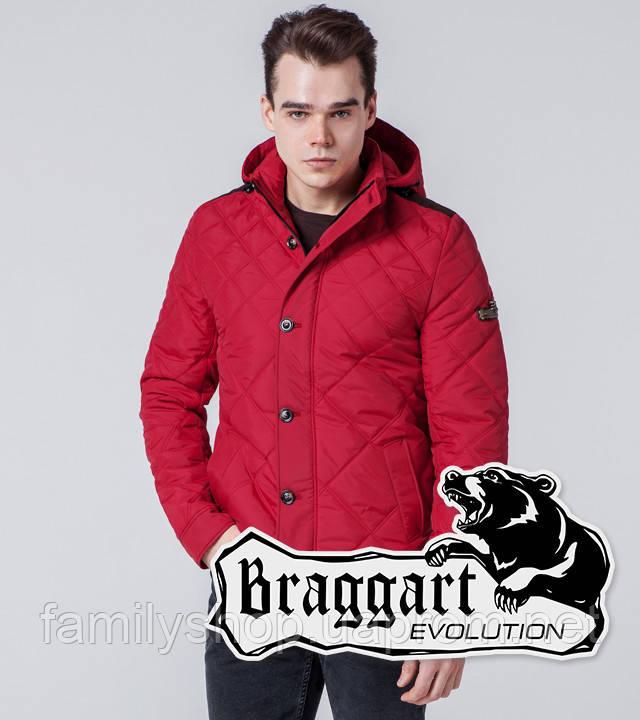 Braggart 1268 | Мужская ветровка красная
