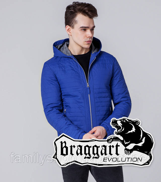 Braggart 1295 | Мужская ветровка электрик