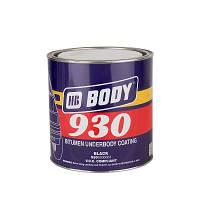 Мастика антикорозионная на основе битума BODY 930 (2,5 кг) черная