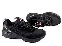 Мужские кроссовки Reebok dmx max, Gore-Tex, чёрные
