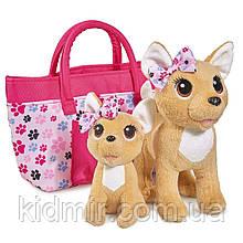 Чи Чи Лав собачки в сумочке Счастливая семья Chi Chi Love Simba 5893213