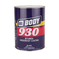 Мастика антикоррозионная  на основе битума BODY 930 (5 кг) черная