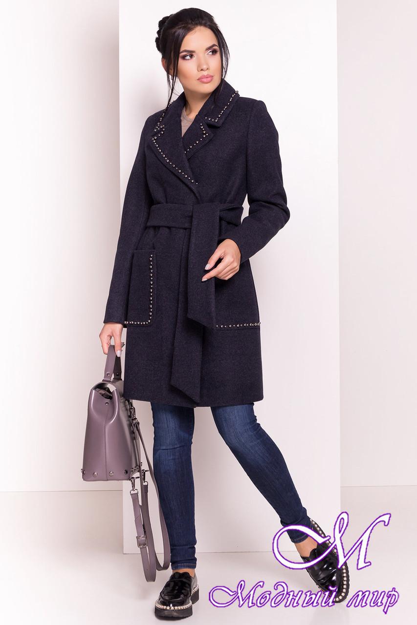Пальто женское демисезонное кашемир (р. S, M, L) арт. Кейси 5504 - 37033
