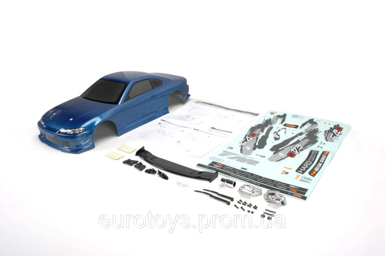 Team Magic E4D S15 Pre-painted Body Shell Dark Blue