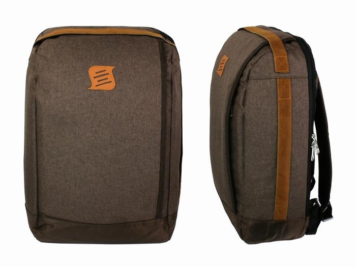 Рюкзак для города коричневый Dasfour