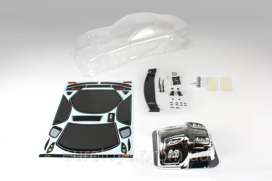 Team Magic K Factory RX7 Touring Car Body Clear 195mm