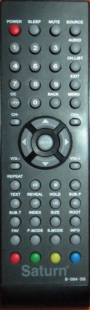 Пульт к телевизору  SATURN. Модель B-084-SB