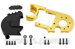 Team Magic E6 Adjustable Motor Mount W Cover Gold