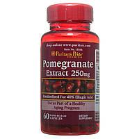 Экстракт граната в капсулах, Pomegranate Extract 250 mg, Puritan's Pride, 60 капсул, фото 1