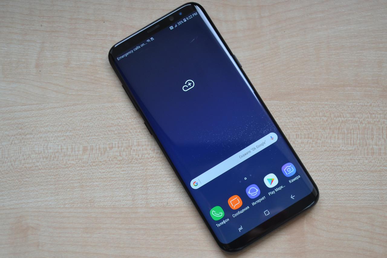 Samsung Galaxy S8+ Plus 64Gb SM-G955U Black Оригинал!