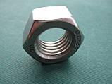 DIN 934 Z : нержавіюча шестигранна гайка з дюймовою різьбою UNC, фото 2