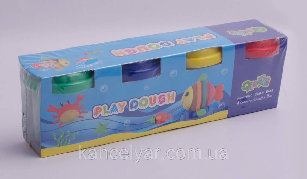 Пластилінове тісто, 4 кольори х 55 мг