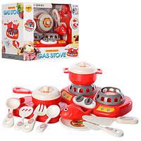 Игровой набор кухня (набор посуды и плита)