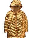 Стильная золотая куртка парка на флисе еврозима (Размер 14Т) Crazy8 (США), фото 3