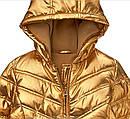 Стильная золотая куртка парка на флисе еврозима (Размер 14Т) Crazy8 (США), фото 4