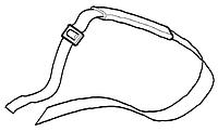 Ремень плечевой мотокосы универсальный Oleo-Mac