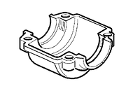 Поддон картера бензопилы Oleo-Mac 936, 937, 940, 941 C, GS 44
