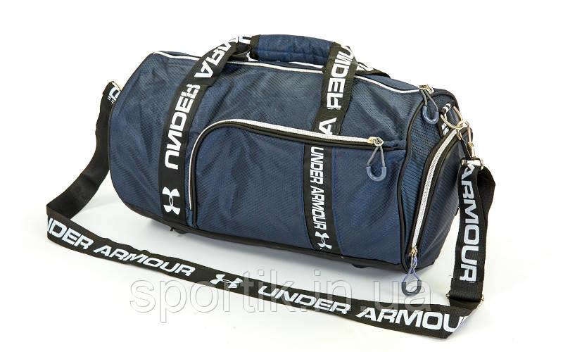 875a1d8f77f5 Сумка для спортзала Бочонок UNDER ARMOUR (полиэстер, р-р 43х23х23см, цвета в