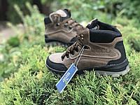 Мужские ботинки Ecco (коричневые крейзи)