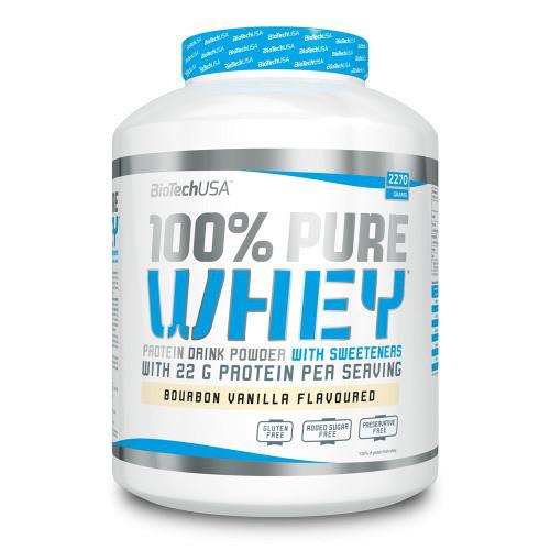 Сывороточный протеин BioTech - 100% Pure Whey (2270 грамм)  coconut-chocolate/кокос-шоколад