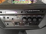 Колонка MR206 Bluetooth/ мікрофон, Комбік з акумулятором., фото 4