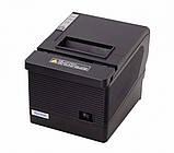 Термопринтер, POS, чековый принтер Xprinter XP-Q260IIINK black (XP-Q260IIINK), фото 2