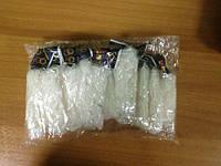 """Набор белых резиночек """"Loom Bands"""" (12 упаковок)"""